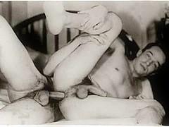 Noir Vintage porno gay
