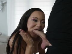 Stud penetrate Adriana Mayas delicious cunt and plows her hard