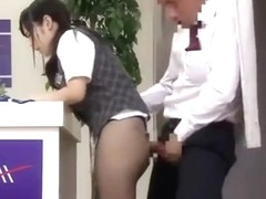 DVDES-809 Immediately Saddle! Receptionist Pantyhose Legs Too Sexy