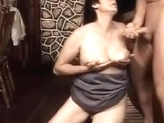 Horny Mature Bends Over And Gets