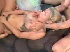 Best pornstars Alexa Pierce and Nina Elle in amazing hardcore, big tits xxx clip