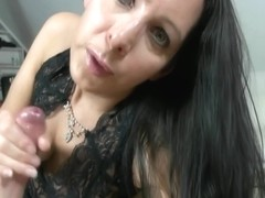 Rough Handjob And Pov Blowjob