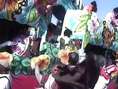 Vintage Mardi Gras Home Video With Some Flashing - SouthBeachCoeds