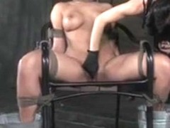 Bdsm Sub Penny Barber Feet Stuck In Ice Water