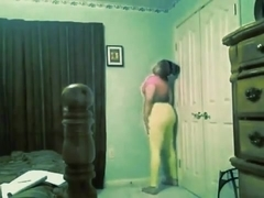 Fabulous twerking cam constricted raiment clip