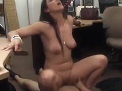 Sexy babe fucks for money and lust