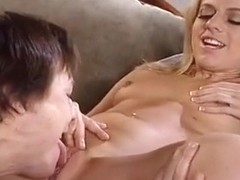 Blonde Angela Stone Sucks And Fucks