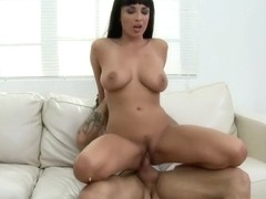 Anissa Kate Gorgeous Brunette Nailed