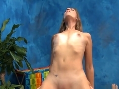 Kinky cutie takes cock in mouth