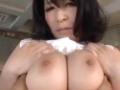 Horny Japanese model Yukari Orihara in Hottest Facial, Cunnilingus JAV movie