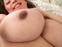 Samanta Lily is a pregnant bitch who likes to show her big tits, in front of the camera