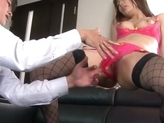 Amazing Japanese chick Yu Shiraishi, Mai Usami, Aya Sakurai, Beni Ito in Exotic fingering, panties.