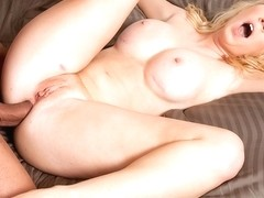 Blonde Nicki Blue Gets A Lot Of Anal Frigging - Upox