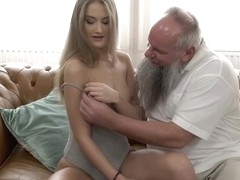 Albert knows that Tiffany Tatum would fuck elderly guys like him, if she gets money
