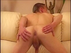 Anal sex scene in gay twinks porn