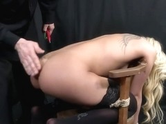 Sub Babe Bound And Disciplined By Maledom
