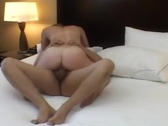 Alex Tanner gets her first creampie