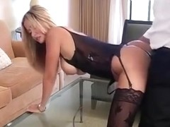 Hot Wife Rio  Room Service slut cumshot
