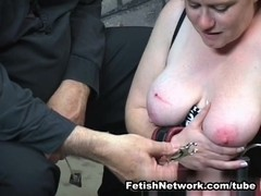 FetishNetwork Movie:  Kirsten Gets The Bull Whip
