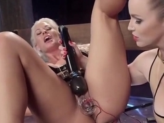 Pornstar sex video featuring Holly Heart and Bella Rossi