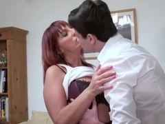 AgedLovE Redhead Mature And Horny Man Hardcore