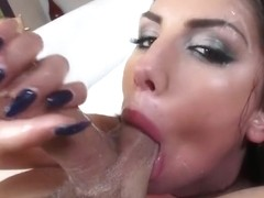 August Ames- Hot POV Blowjob and Tittyfuck