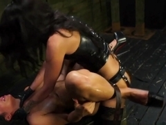 Exotic pornstars Alexa Pierce, Esmi Lee in Best Fetish, Stockings sex clip
