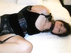 Lotus bound girl struggles in the bedroom