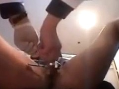 Mum Caught Masturbating Under The Desk