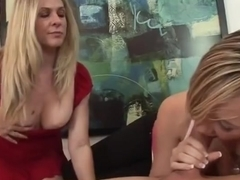 Huge tits porn video featuring Tracey Sweet and Angela Attison