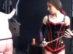 Feeding and Humiliating Slave