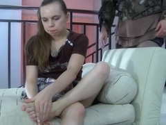 GirlsForMatures Video: Caroline M and Kitty A