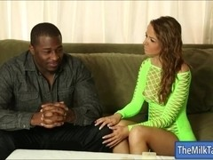 Sexy masseuse Pressley Carter milks cock under the table
