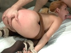 Bill Bailey Ashlee Graham in Ashlee Graham gets Ass Fucked in Bondage. - SexAndSubmission
