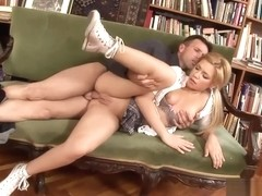 Bibi Noel Swallows A Thick Load