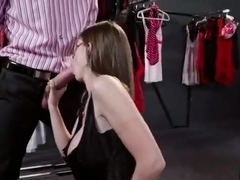 Brunette sex video featuring Danny D and Brooklyn Chase