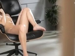 Tempting small titted babe Carmen Summer