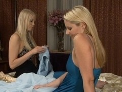 Brea Bennett & Samantha Ryan in Girls In White #05, Scene #01