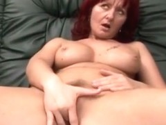 Busty Milf Takes Schlong From Amputee On Couch