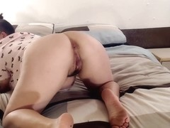 Dyke Lesbian Major ASS farting Relief Asshole Blowing