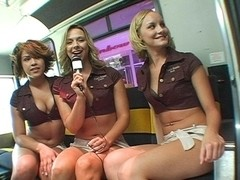 Ass and Titties On The BangBros Party Bus!
