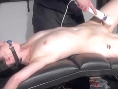 Rough blowjob and sex toys domination