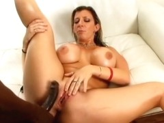 Pov gives her on busty knees blowjob brunette have hit the