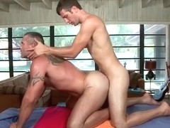 Dude gets super hot gay massage part2