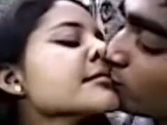 Desi paramours At Park Enjoying Kiss