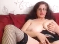 Granny With Massive Tits On Webcam