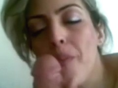 Superhot persian blonde milf Blowjob